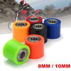 8mm/10mm Chain Roller Pulley Slider Tensioner Wheel Guide For Pit Dirt Mini Bike