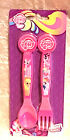 My Little Pony Girls  Character Fork & Spoon Cutlery  Set   New
