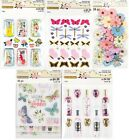 U CHOOSE Recollections BACKYARD TABLE Stickers Shakers Wine Flowers Butterfly