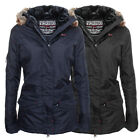 Geographical Norway Lady Winter Jacke Parka Outdoor Damen Winterjacke