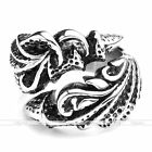 1x Vintage Men's Stainless Steel Dragon Claw Harley Gothic Biker Ring Punk Gift
