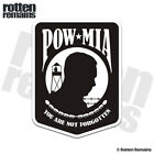POW MIA Decal Prisoner of War Soldier Memorial Marines Gloss Sticker HGV