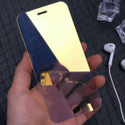 Full Cover Mirror Tempered Glass Screen Protector Film For iPhone 6 6S 7 8Plus X