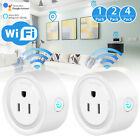 WiFi Voice Control Smart Remote Control Timer Switch Power Socket Outlet US Plug