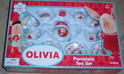 Schylling Child's 13pc Porcelain Tea Set  - Many Styles - New in Box