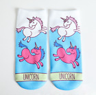 Hot Men Women Anime Sock Cotton Unicorn Animals Alien Low Cut Ankle Socks 1 Pair