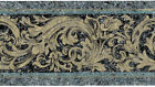 Grecian Architectural Shimmer Sheen Textured Acanthus Leaf Wallpaper Wall Border