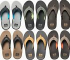 NEW REEF FANNING FLIP FLOP SANDAL MENS 8 14 ALL COLORS BOTTLE OPENER FREE SHIP
