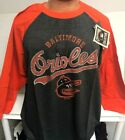 BALTIMORE ORIOLES THROWBACK LOGO 3/4 SLEEVE SHIRT COOPERSTOWN MAJESTIC NEW 5X on Ebay
