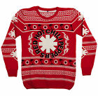 Red Hot Chili Peppers Palm Trees Ugly Christmas Sweater