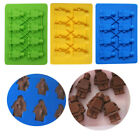 Minifigure Silicone Ice Cube Tray Bricks Figures Candy Chocolate Fondant Mould