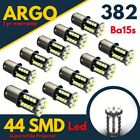 Bright White 44 Smd Led 382 P21/5w 1156 Car Brake Fog Reverse Bulbs Ba15s 12v