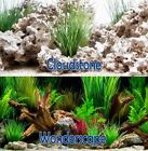 Внешний вид - Seaview CloudStone/Wonderscape 24in Aquarium Double-sided Background BGCLD6-24