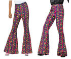 60's Flared Trousers Mens Ladies Hippy Fancy Dress Flared Trousers