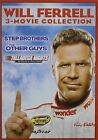 Will Ferrell Movie Collection: Step Brothers, Other Guys & Talladega Nights DVD