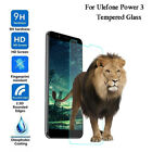 Lot Premium Tempered Glass Screen Protector Film Skin Cover For Ulefone Power 3