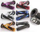 """A5 CNC Motorcycle Aluminum Rubber Gel Hand Grips for 7/8"""" HandleBar Bike Bicycle"""