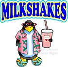 Milkshakes DECAL (Choose Your Size) Ice Cream Food Truck Concession Sticker