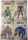 Monsters Unleashed #2-5 Monster Variant Covers Marvel Comics 1st Prints