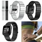 Luxury Stainless Steel Wrist Band Watchband Bracelet Strap For Fitbit Versa
