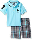 U.S. Polo Assn Boys S/S Polo 2pc Short Set