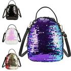 Mermaid Sequins Outdoor Backpacks Women And Teenagers Small Stylish School Bags