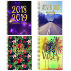 3095 Academic 2018 2019 Hardback Week To View Student A5 Diary - Choose Design