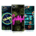 HEAD CASE DESIGNS TROPICAL TYPOGRAPHY HARD BACK CASE FOR BLACKBERRY PHONES