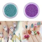 Nail Art 12 Colors Caviar Bling Micro Beads 3D Acrylic UV Gel Tip Decor