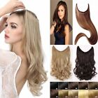 Headband Secret Wire In Hair Extensions Invisible Curly Wavy Straight Wedding F5
