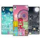 HEAD CASE DESIGNS DOODLE TOWN SOFT GEL CASE FOR SONY PHONES 2