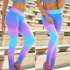 Leggings Colorful Pants Jumpsuit Girls Womens Gym Yoga Workout Sports Fitness