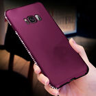 Bling Diamond Glitter Crystal Soft TPU Case Cover For Samsung Galaxy S9/S8 Plus <br/> Popular Purple! Hot Sales! For Samsung S9 S8 S7 Note 8