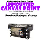 unmounted canvas print only Personalised Photo on Canvas unframed A0 A1 A2 A3 A4