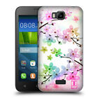 HEAD CASE DESIGNS GLAMOROUS BLOOMS HARD BACK CASE FOR HUAWEI PHONES 2