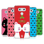 HEAD CASE DESIGNS CHRISTMAS CATS HARD BACK CASE FOR LG PHONES 1