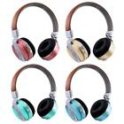 Bluetooth Headphones Microphone TF OverEar Stereo Wireless Headset With Mic C7S9