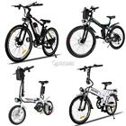 "Foldable Aluminum Alloy Electric Folding Mountain Bike Cycling 36V 26"" 27 Speed+"