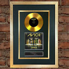 AVICII GOLD DISC Levels Cd Single Album Signed Autograph Mounted Re-Print #168
