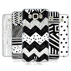 HEAD CASE DESIGNS BLACK AND WHITE DOODLE PATTERNS BACK CASE FOR SAMSUNG PHONES 3