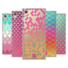 HEAD CASE DESIGNS COLOURFUL SCALES HARD BACK CASE FOR SONY PHONES 1