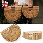 Bamboo Bag Summer Lady Tote Design Bamboo Handbag Straw Travel Clutch Cult Gaia