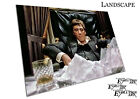 American gangster Tony Montana Scarface Film Poster Print X1603