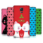 HEAD CASE DESIGNS CHRISTMAS CATS REPLACEMENT BATTERY COVER FOR SAMSUNG PHONES 1