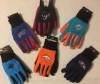 NFL Team Logo Gloves - Broncos / Ravens / Bills / Panthers / Texans / Dolphins on eBay