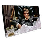 American gangster Tony Montana Scarface Film Ready to Hang Canvas X1603