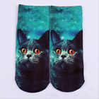 Hot Men Women Cartoon Sock Unicorn UFO Skull Cotton Low Cut Ankle Socks 1 Pairs