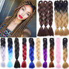 "5packs 24"" Long as Human Weave Jumbo Braiding Hair Party Ombre African Braids F6"