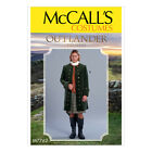 McCall's 7762 Sewing Pattern to MAKE Outlander Coat Period Costume