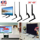 Universal Flat Screen TV Stand Base Tabletop VESA Pedestal Mount LCD LED 26